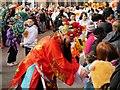 SJ8398 : Chinese New Year Celebrations, Princess Street by David Dixon