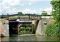 SO8660 : Lock No 7 south-east of Droitwich, Worcestershire by Roger  Kidd