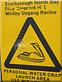 NZ8711 : Peppered sign by Pauline E