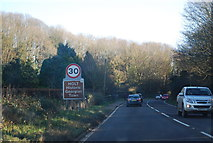 TG0738 : Entering Holt, A148 by N Chadwick