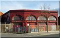 TQ3083 : York Road Underground Station by Jim Osley