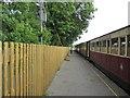 SH4758 : Dinas Railway Station Up Platform by Peter Holmes
