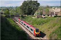 ST9897 : Railway Line at Kemble by Wayland Smith
