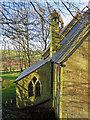 SN1343 : Vestry with chimney: Monington Church by Dylan Moore