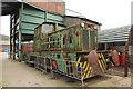 SE2516 : Colliery locomotive by Richard Croft