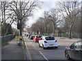SK5538 : Traffic queuing on Abbey Bridge by Alan Murray-Rust