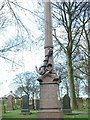 NZ3756 : Naval Memorial, Bishopwearmouth Cemetery by Peter Wilkinson