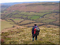 SO1727 : Ridge descending into Cwm Sorgwm by Trevor Littlewood