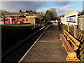 SO6303 : GWR bench on Lydney Town railway station by Jaggery