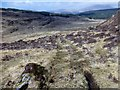 NM5322 : View Down Moorland Track by Rude Health