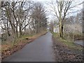 NT2376 : Cycleway and footpath, west of Pilton Drive by Christine Johnstone
