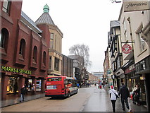 SX9292 : High Street, Exeter by Oast House Archive