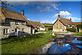 SY7188 : The hamlet of Whitcombe by Mike Searle