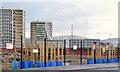 J3272 : Broadway development site, Belfast - February 2014(1) by Albert Bridge