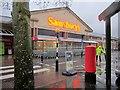 SX8966 : Sainsbury's, The Willows, on a wet day by Derek Harper