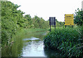 SO8761 : Former bridge hole south-west of Droitwich, Worcestershire by Roger  Kidd
