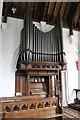 TF8044 : Organ, St Mary's church, Burnham Deepdale by J.Hannan-Briggs