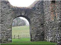NR9057 : Skipness castle by sylvia duckworth