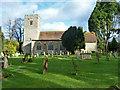 TQ8455 : Hollingbourne church by Robin Webster