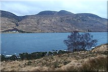 NC3435 : A southeasterly whips up Loch More by Alan Reid