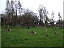 NZ5119 : St Joseph's Cemetery, Middlesbrough by JThomas