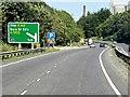 TL8465 : Eastbound A14 near Bury St Edmunds by David Dixon