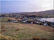 NG2547 : Dunvegan village by Richard Dorrell