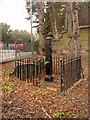 SK5439 : Lenton Lodge pump by Alan Murray-Rust