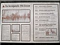 SP4173 : The Incomparable 29th Division information board by Robin Stott