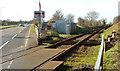 J2184 : Kilmakee level crossing, Templepatrick - February 2014 (2) by Albert Bridge