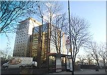 TQ1885 : Office blocks on Wembley Hill Road by David Howard