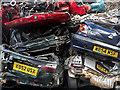 NT2776 : Automobile graveyard by William Starkey
