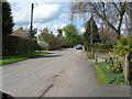 SK1727 : Church Lane, Hanbury 2-Staffs by Martin Richard Phelan