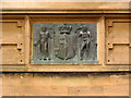 SK5439 : Coat of arms on Lenton Lodge by Alan Murray-Rust