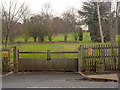 SK5338 : Gate into Lenton House Grounds by Alan Murray-Rust