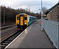 SO1107 : Cardiff Central train awaiting departure from Rhymney by Jaggery