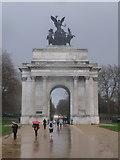 TQ2879 : London: Wellington Arch by Chris Downer