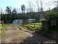 SO3220 : Pen-y-dre Caravan and Camp Site, Llanvihangel Crucorney by Jaggery
