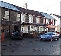 ST0888 : CIU South Wales branch and Ladbrokes, Rhydyfelin by Jaggery
