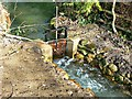 SU1868 : Open sluice-gate, River Kennet, Marlborough by Brian Robert Marshall