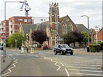 TM1714 : Christ Church United Reformed Church, Carnarvon Road, Clacton-on-Sea by David Dixon