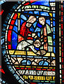 TR1557 : Stained glass window (s.VI) Canterbury Cathedral by Julian P Guffogg