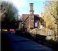 SO5719 : Prominent chimneystack on Y Crwys, Goodrich by Jaggery