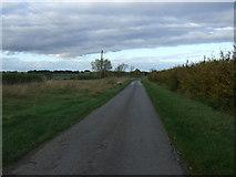 TF0933 : Mareham Lane heading north  by JThomas