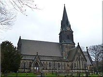 SE2837 : Holy Trinity, Meanwood, Leeds by Dave Kelly