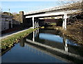 SS7597 : Two bridges over the Neath Canal, Neath by Jaggery