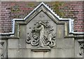 SJ8989 : Stockport Masonic Guildhall: Architectural detail by Gerald England
