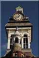 SK9135 : Grantham Guildhall clock by Richard Croft