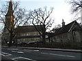 TQ3473 : Church on Lordship Lane, Dulwich by David Howard