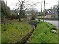 ST4492 : Small stone bridge, Llanvair Discoed by Jaggery